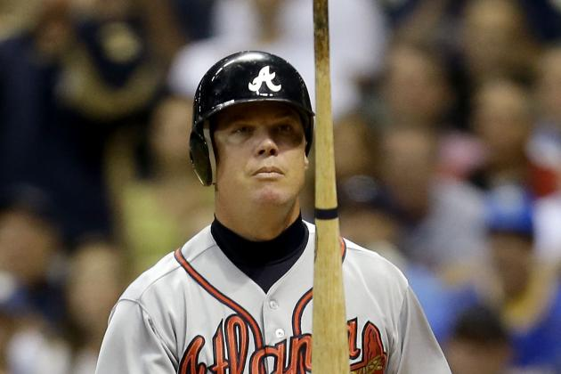 McCann and Bourn out Tonight vs. Nationals