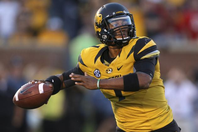 Report: Mizzou QB James Franklin Questionable for Arizona State