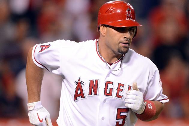 Pujols Back at 1B for First Time Since August 22nd