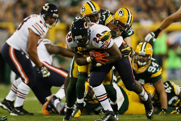 Michael Bush: Chicago Bears Bruiser RB Will Help Offense Bounce Back