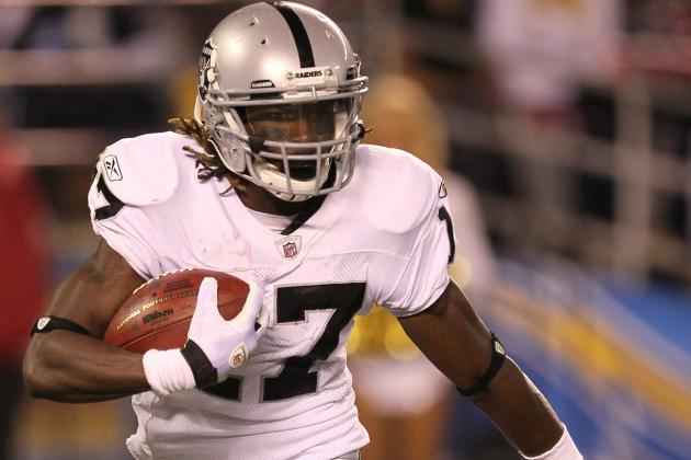 Raiders to Limit Moore If He Plays Sunday