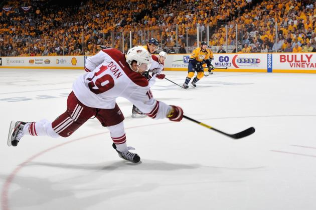 Shane Doan Signs a Four-Year Contract to Remain with Phoenix Coyotes