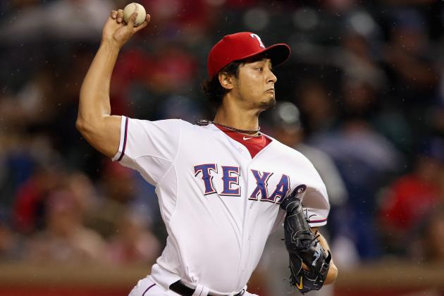 Yu Darvish Is Sixth AL Rookie with 200 Ks