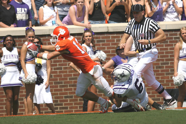 Furman Faces Clemson Saturday