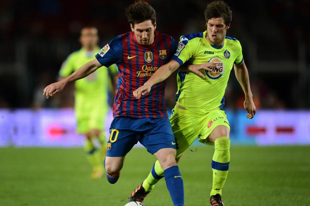 Getafe 1-4 Barcelona: As It Happened