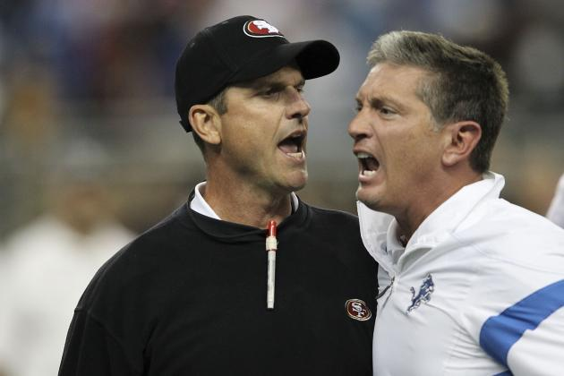 Las Vegas Placing Bets on Harbaugh and Schwartz