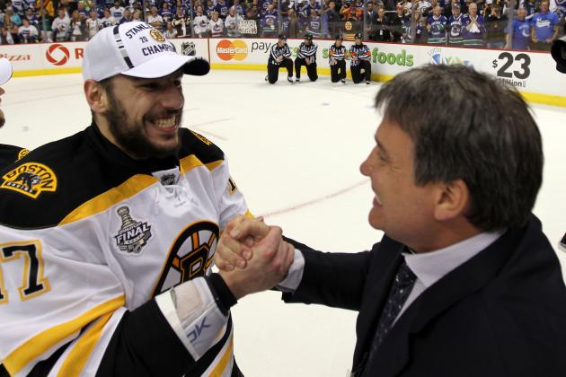 Boston Bruins Forward Milan Lucic Signs 3-Year Contract Extension