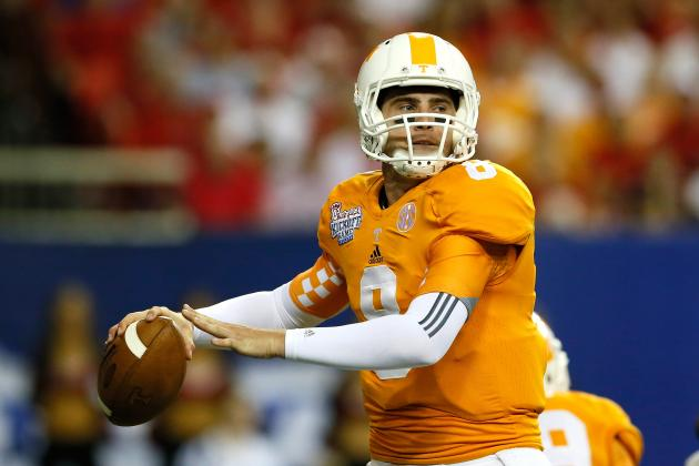 Florida vs. Tennessee: Why This Could Be a Showcase Game for Vols QB Tyler Bray