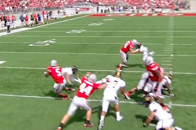 Ohio State vs. Cal: Braxton Miller with the Shake of the Day