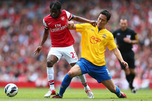 Arsenal vs. Southhampton: Gervinho's Performance Is Positive Sign for Gunners