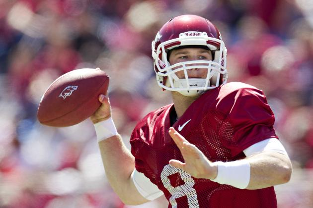 Tyler Wilson: Arkansas QB's Absence Will Lead to Dominant Victory for Alabama