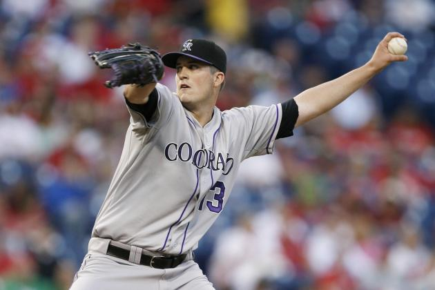 The Rockies will return to a traditional five-man rotation nextyear