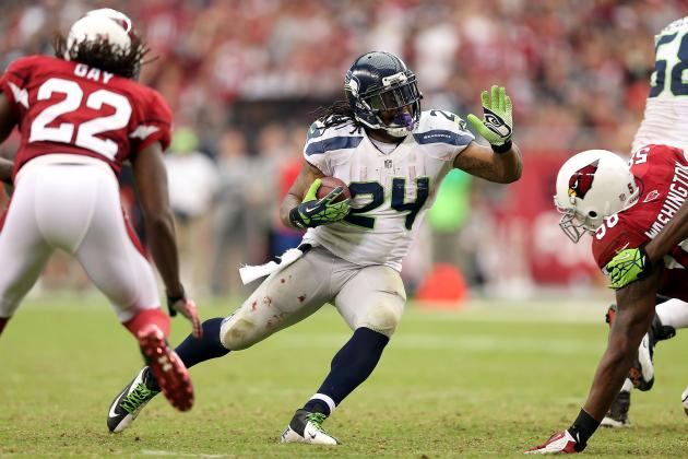 Marshawn Lynch: Fantasy Owners Must Start Seahawks' RB in Week 2 vs. Cowboys