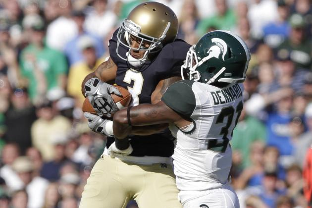Notre Dame vs. Michigan State: Breaking Down Saturday's Prime-Time Matchup