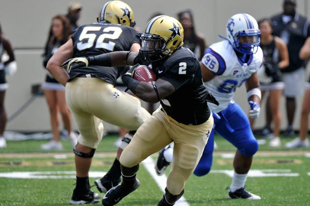 Stacy (174 Yards), Vandy Run Past Presbyterian
