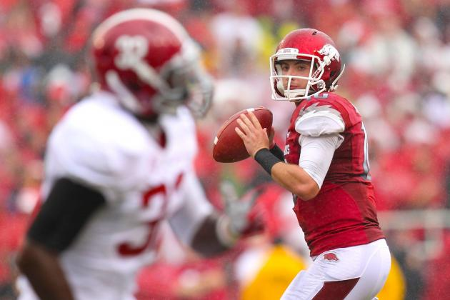 Alabama vs. Arkansas: Live Scores, Analysis and Results