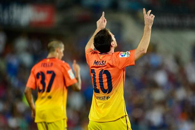 Barcelona vs. Getafe: Dominant 4-1 Win Showcases Blaugrana's Scary Attack