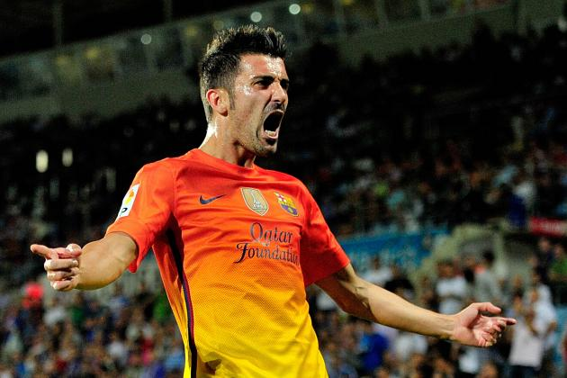 Barca vs. Getafe: David Villa Continues Fine Form in Return from Injury