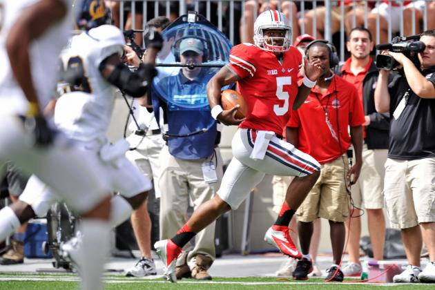 Braxton Miller: QB's Brilliance Overshadows Weak Buckeyes Performance vs. Cal