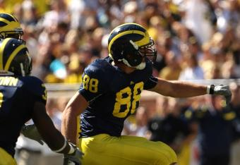 Michigan's defense is strutting along, stopping runs and deflecting passes