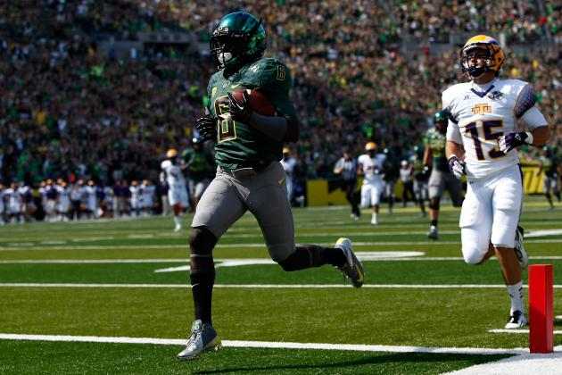 Oregon Football: Should Chip Kelly Play De'Anthony Thomas on Special Teams?