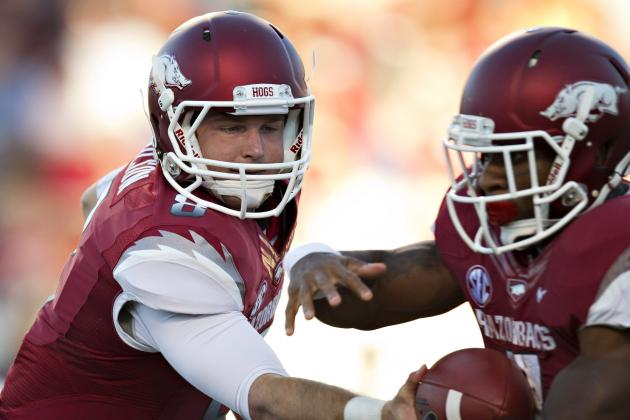 College Football Scores 2012: Arkansas and the Biggest Disappointments of Week 3