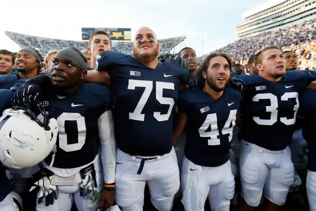 Navy vs. Penn State: Nittany Lions Back on Track with Blowout Win