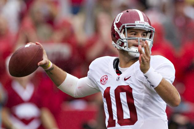 Alabama vs. Arkansas: Blowout Proves LSU Will Be Bama's Only True Test in 2012