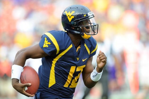 WVU's Geno Smith Becomes School's All-Time Leading Passer
