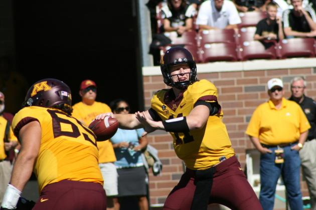 Max Shortell Leads Minnesota Golden Gophers to Victory, QB MarQueis Gray Injured