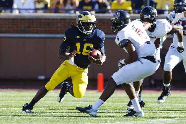 Michigan Football: Wolverines Win in Rout, but Warning Signs Remain for Robinson