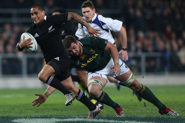 Rugby Union: All Blacks Lucky Against Awful Springboks
