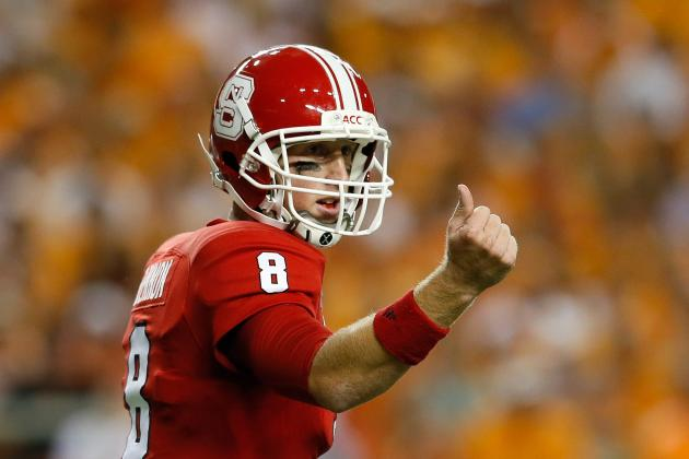 Glennon, N.C. State Roll Over South Alabama 31-7