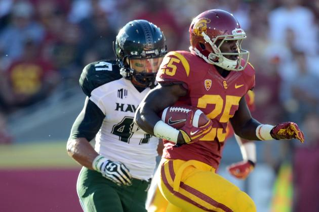 Silas Redd Injury: Updates on USC RB's Apparent Shoulder Injury