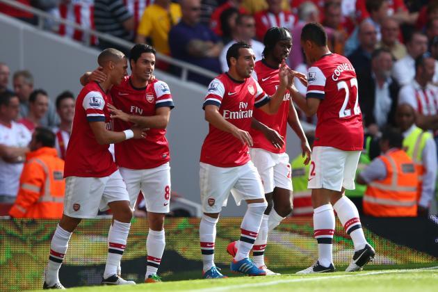 Arsenal Demolish Southampton, but Title Talks Are Premature