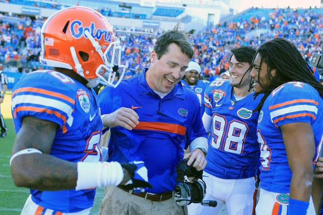 Urban Meyer Era Officially over as Will Muschamp Puts His Stamp on Gator Program