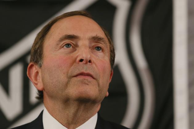 NHL Lockout: An Open Letter to Gary Bettman and Donald Fehr