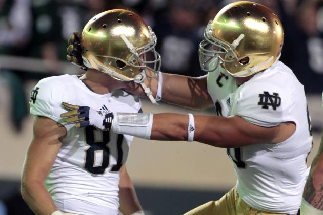 Notre Dame vs. Michigan State: Irish Defeat Spartans in Statement Win