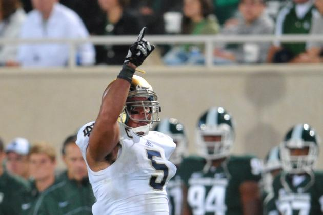 Notre Dame Football: Irish Dominate Michigan State 20-3