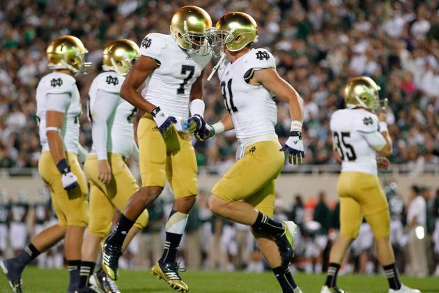 Notre Dame vs. Michigan State: Irish Squad Proves to Be Legit BCS Contender