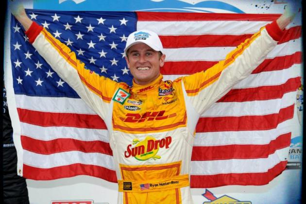 Ryan Hunter-Reay Wins the 2012 IndyCar Championship