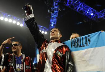 Sergio Martinez in victory