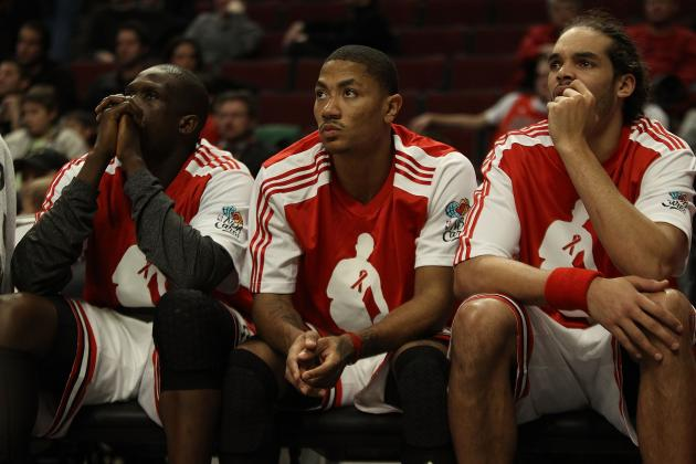 Injury-Prone Chicago Bulls Unlikley to Ever Get Best 5 on the Court