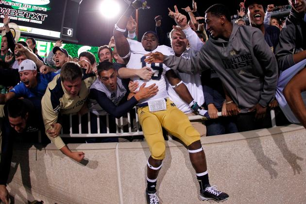 Notre Dame Football: Win vs. Michigan State Proves Irish Are Officially Back