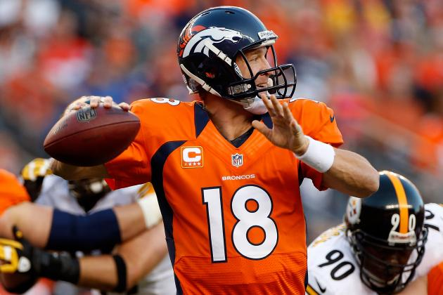 Peyton Manning: Projecting Broncos QB's Fantasy Forecast vs. Falcons