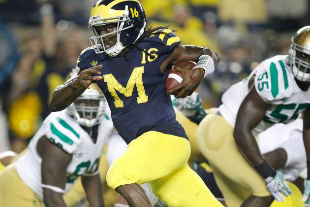 Denard Robinson and Michigan Will Bring Notre Dame Crashing Back Down to Earth
