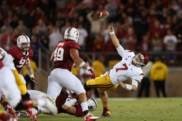 USC vs. Stanford: Breaking Down Matt Barkley's Cardinal Nightmares