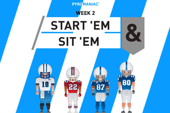 Fantasy Football 2012: Start 'em, Sit 'em for Week 2