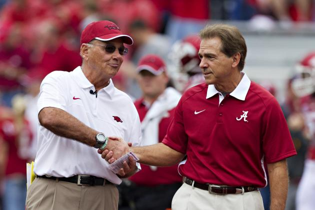 Alabama Football: What Domination of Arkansas Means for Tide's Title Repeat Hope
