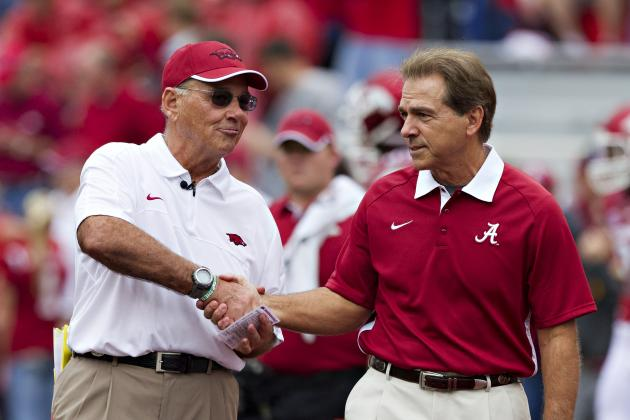 USA Today College Football Poll 2012: Complete Week 4 Rankings